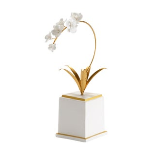 Chelsea House Inc Flower Accent Sculpture For Sale