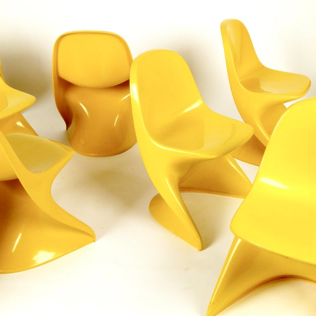 Plastic Casalino I Casala Stackable Child's Chair For Sale - Image 7 of 12