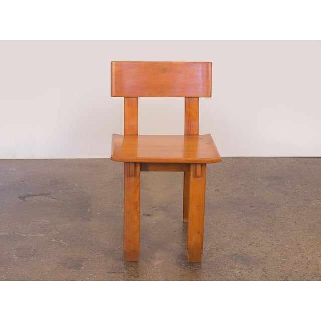 1960s 1935 Russel Wright American Modern Side Chair For Sale - Image 5 of 11