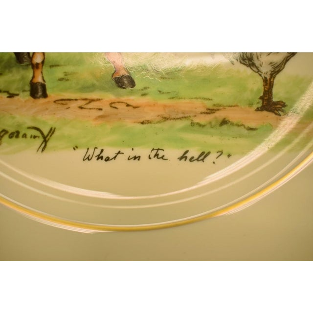 1950's Vintage Cyril Gorainoff Abercrombie & Fitch Plates - Set of 3 For Sale - Image 10 of 12