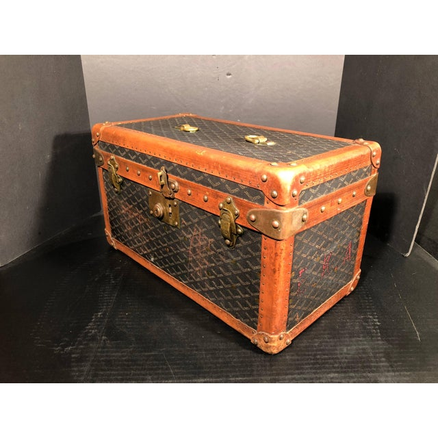 Goyard Jewelry or Valuables Trunk Train Case For Sale - Image 11 of 13