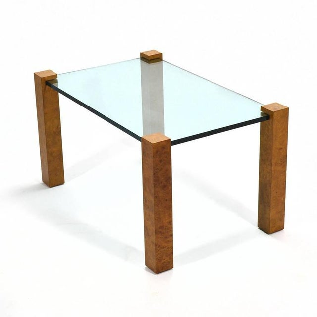 1970s Harvey Probber Cube Leg Table For Sale - Image 5 of 10