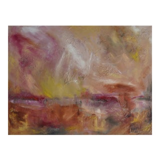 """Miracles"" Original Romantic Abstract Landscape Painting For Sale"