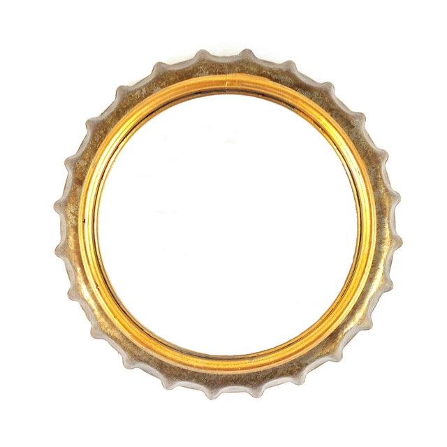Bottle Cap Wall Mirror - Image 2 of 6