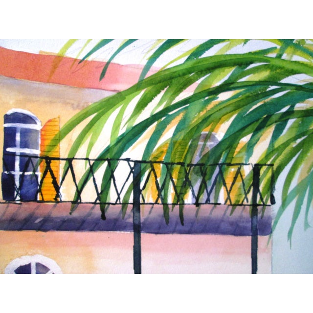 'Afternoon' Watercolor Painting - Image 7 of 7