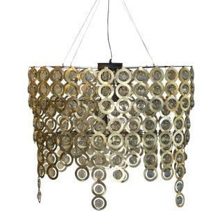 Modern Sircle Chandelier For Sale