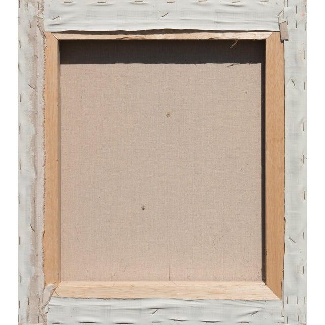 Canvas 'Contemplative', 1990s, American School For Sale - Image 7 of 9
