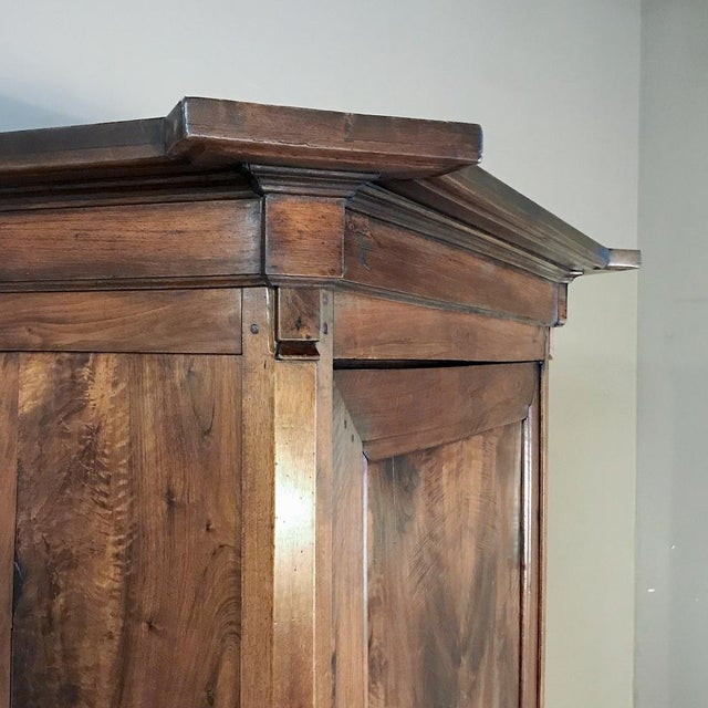 Wood 19th Century Directoire Period Walnut Bonnetiere For Sale - Image 7 of 12