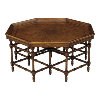 Scarborough House Octagon Myrtle Cocktail Table For Sale