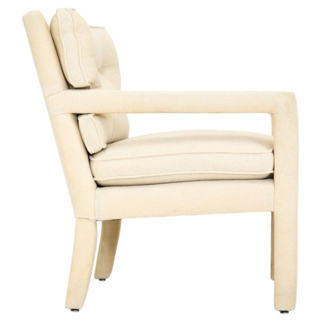 Mid 20th Century Mid-Century Modern Parsons Armchair For Sale - Image 5 of 10