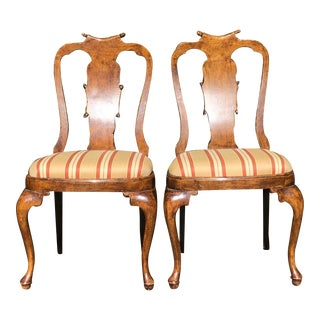 Pair of Antique Regency Mahogany Side or Dining Chairs For Sale