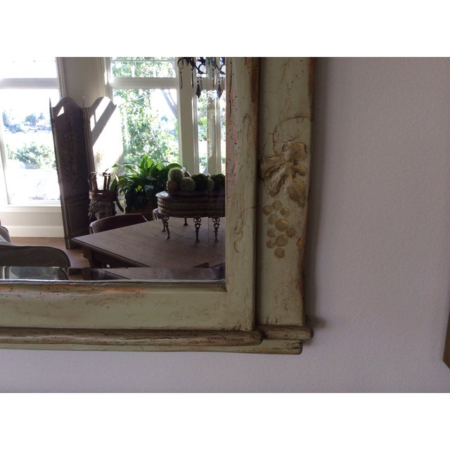 Farmhouse Collection Hand-Painted Mirror - Image 5 of 6