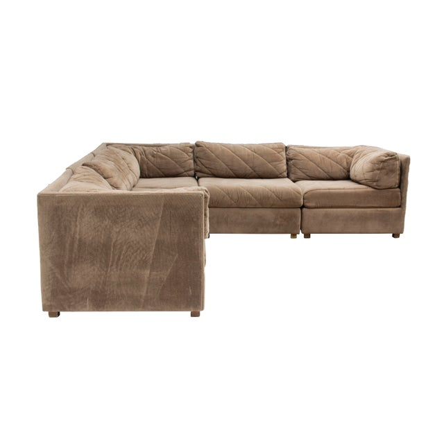 Selig Modular Sectional Sofa by Selig, 5 Pieces For Sale - Image 4 of 13