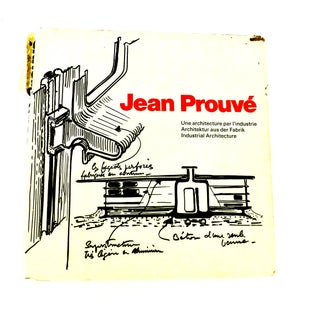 1971 Jean Prouve, Industrial Architecture Book Preview