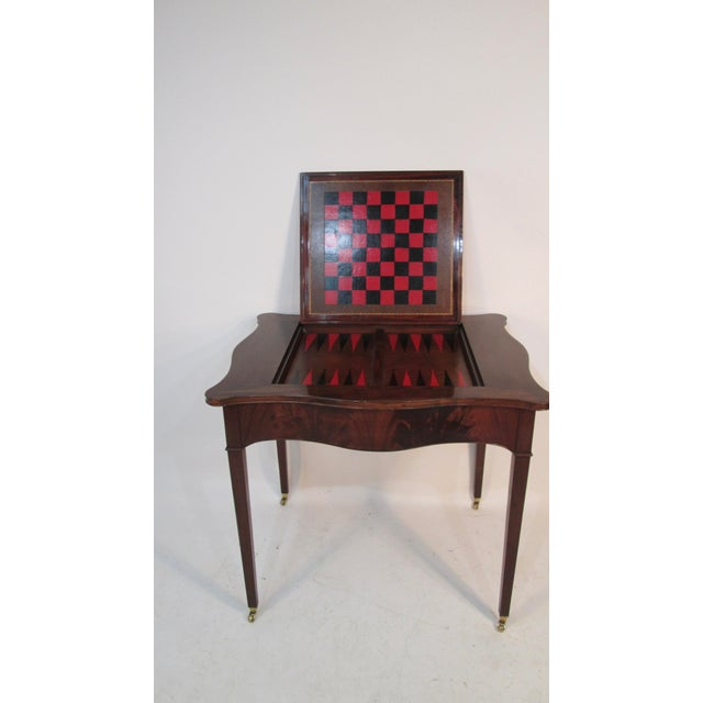 Beacon Hill 1940s Beacon Hill Collection Game Table For Sale - Image 4 of 10