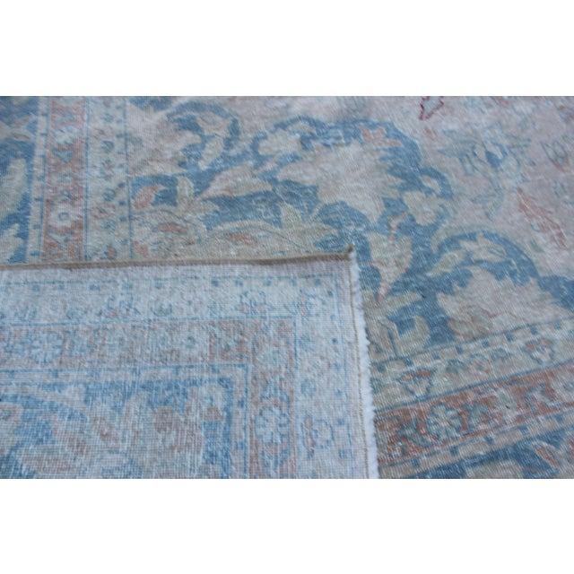 Vintage Tabriz Wool Rug - 10′ × 14′1″ For Sale - Image 9 of 10