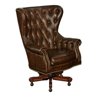 Royal Genuine Leather Executive Presidential Office Chair For Sale