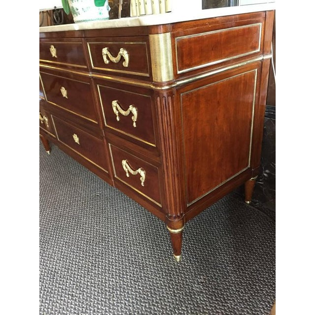 Mid 20th Century Maison Jansen Louis XVI Style Commode/Chest For Sale - Image 5 of 12