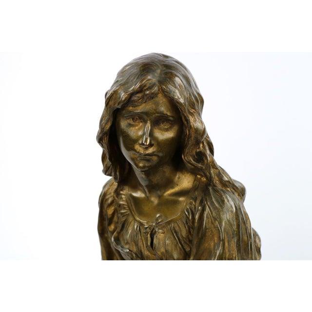 Paul Eugéne Mengin Bronze Sculpture - Image 5 of 10