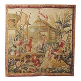 Image of 1970s Vintage Tapestry Style Wall Hanging For Sale