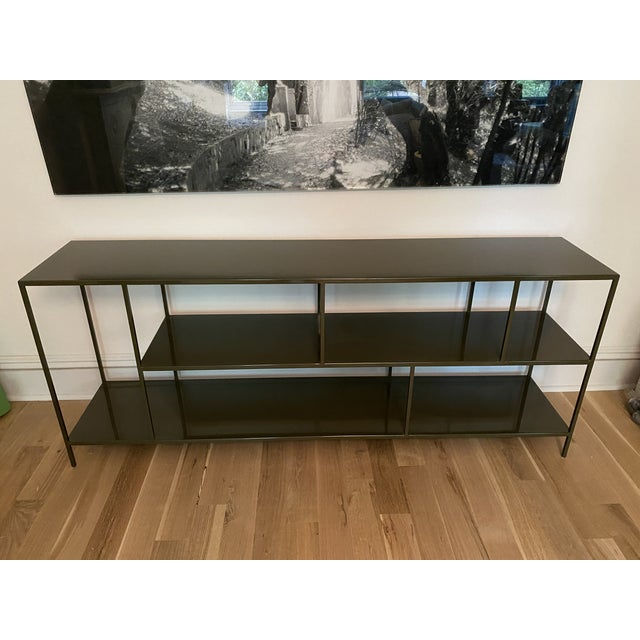 Contemporary Room & Board Foshay Powder Coated Metal Shelving Unit For Sale - Image 3 of 7