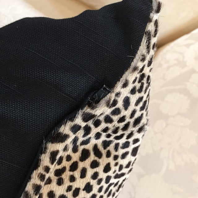 Kreiss Furniture Leopard Spotted Hide Pillow - Image 5 of 5