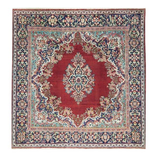 Traditional Persian Hand Woven Rug - 10'4 X 10'4 For Sale