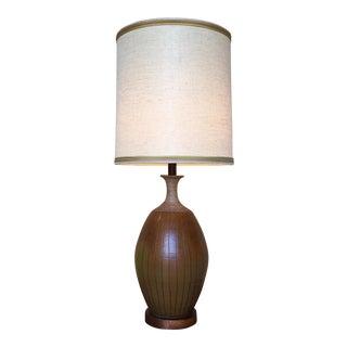 1960s Brent Bennett Ceramic Table Lamp For Sale