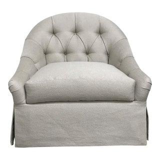 RJones Vanessa Swivel Base Lounge Chair For Sale