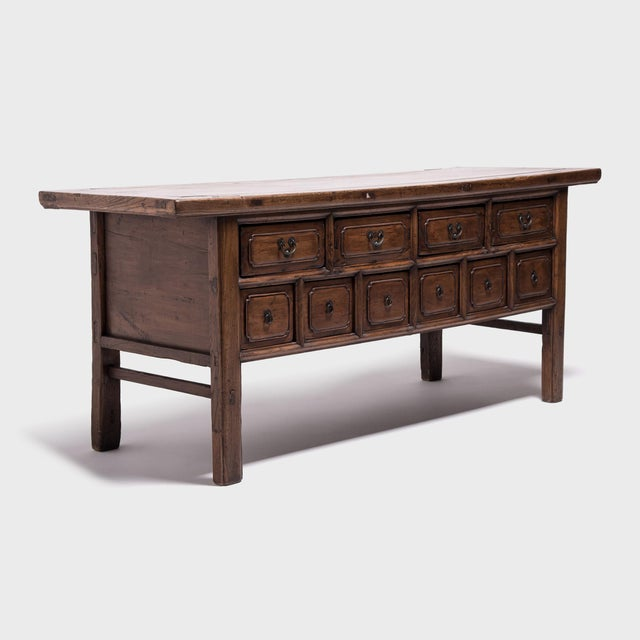 19th Century Chinese Ten-Drawer Altar Coffer For Sale - Image 4 of 9