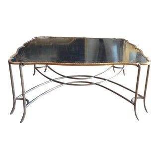 Enormous Tray Top Style Coffee Table For Sale