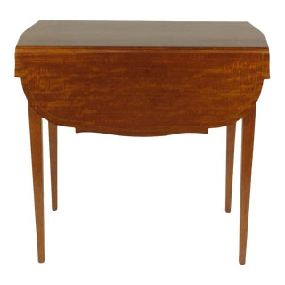 Federal-Style Inlaid Pembroke Table For Sale