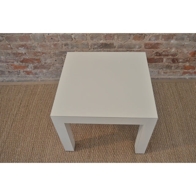 Vintage Parsons Side Table - Image 3 of 5