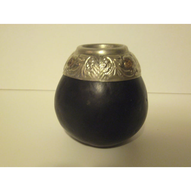 Handcrafted Gourd Vases - Pair - Image 8 of 11