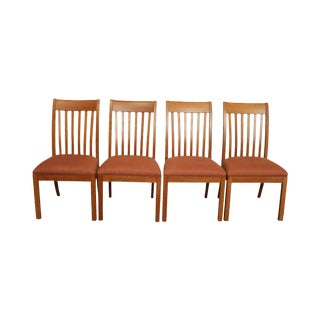 Ethan Allen American Artisan Collection Set 4 Colby Side Dining Chairs For Sale