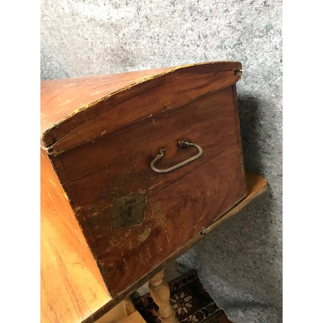 French Barrel Top Chest For Sale - Image 6 of 7