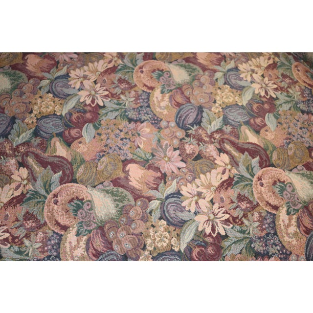 Louis XV Style Carved Walnut Tapestry Sofa For Sale - Image 11 of 13