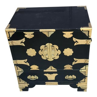 19th Century Antique Black Chinese Cabinet For Sale