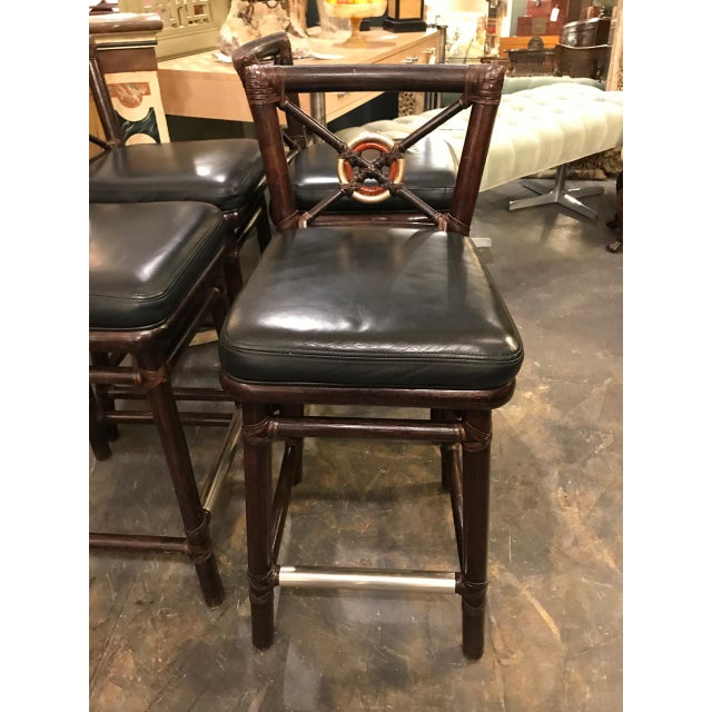 McGuire Bar Stools For Sale - Image 10 of 10