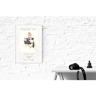 David Hockney, Celia in a Black Dress With White Flowers, Edition: 1000, Lithograph Preview