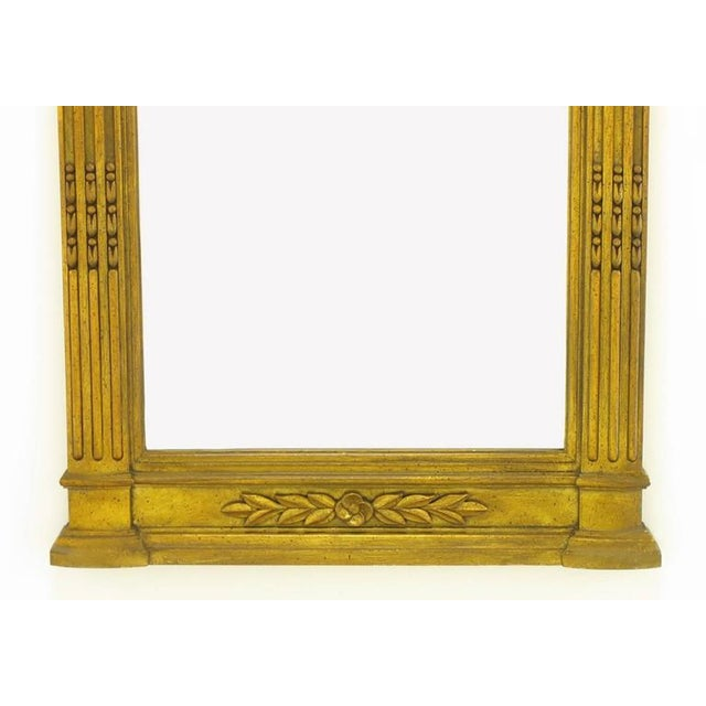 """1960s Two 55"""" Tall Rococo Style Gilt Composition Mirrors For Sale - Image 5 of 7"""