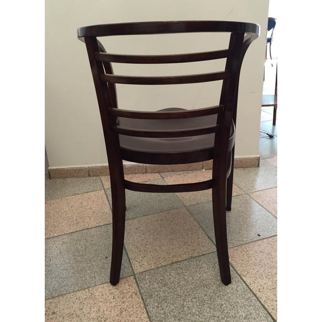 Viennese Secession bentwood armchair, 1900s For Sale - Image 6 of 8
