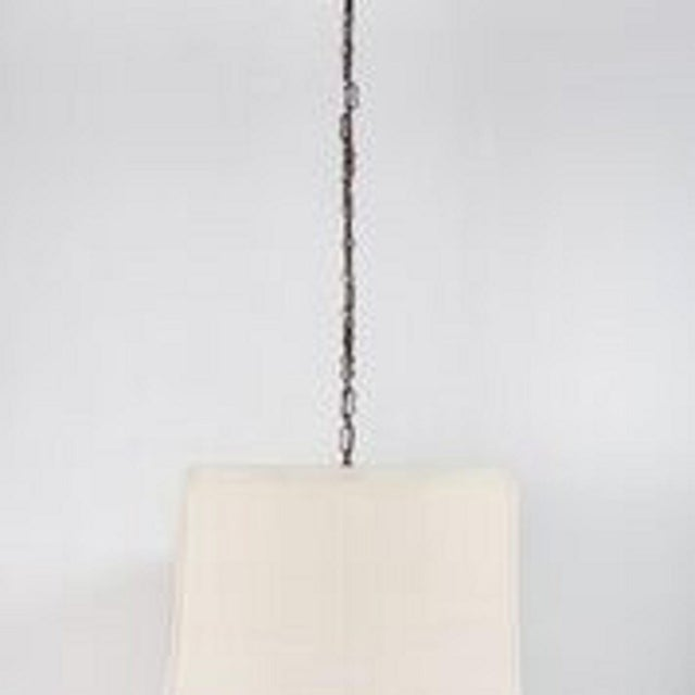 Paul Marra Paul Marra Asian-Inspired Four Light Shaded Pendant For Sale - Image 4 of 6