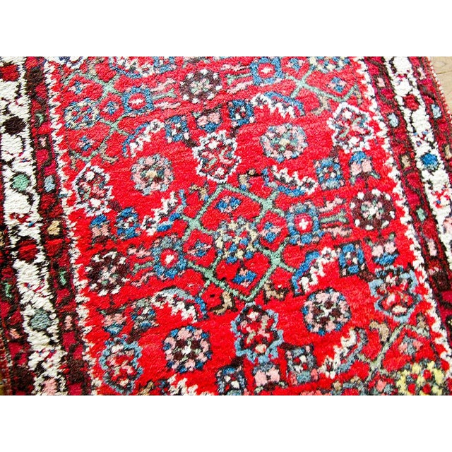 """Red Boho Chic Persian Rug - 1'11"""" X 3' - Image 3 of 7"""