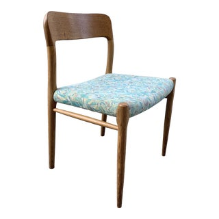 1960s Danish Side Chair by j.l. Moller for Højbjerg For Sale