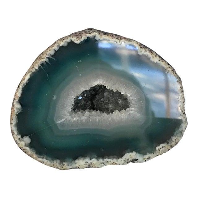 Boho Chic Blue Geode - Image 1 of 5