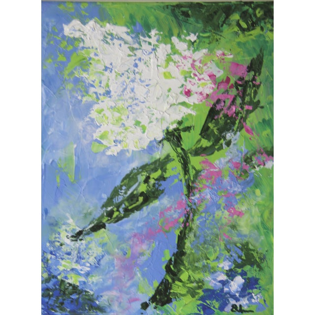 Hydrangea-Floral Painting by Celeste Plowden - Image 1 of 2