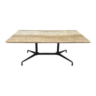 Eames for Herman Miller Double-Pedestal Dining Table For Sale