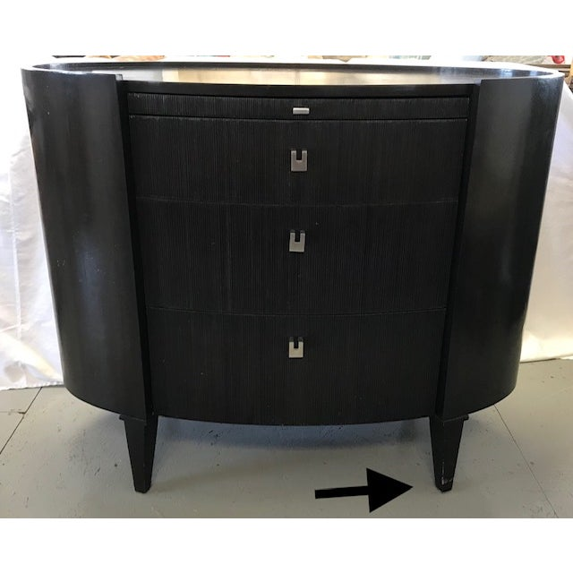 Side Tables by Axis Furniture Black Wood - A Pair For Sale - Image 10 of 13