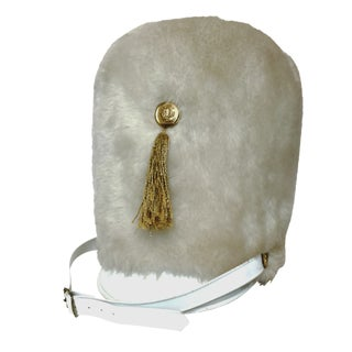 Faux-Fur Drum Majorette Hat